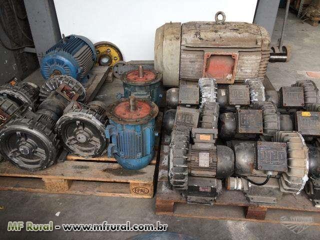 Motor elétrico usado