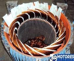 Rebobinamento motor