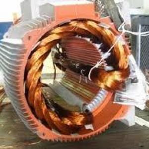 Enrolamento motor trifásico